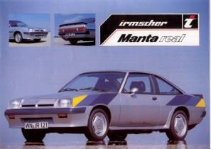 Manta Real Prospekt: Juli 1986